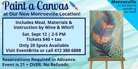 Monroeville Location: Paint a Canvas! tickets