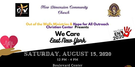 WE CARE ENY presented by OTW & Hope for All Outreach  Christian Center tickets