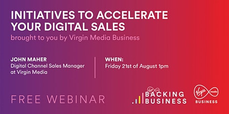 Initiatives to Accelerate your Digital Sales tickets