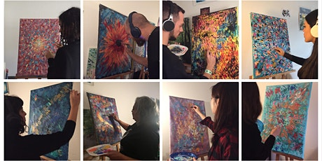 Techno Painting Workshop billets