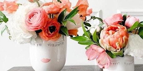 """Flower Workshop with """"Celfie"""" vase tickets"""