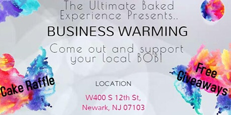 The Ultimate Baked Experience Business Warming tickets