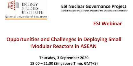 Opportunities and Challenges in Deploying Small Modular Reactors in ASEAN tickets