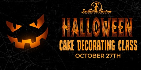 Halloween Cake Decorating Class tickets