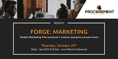 FORGE: MARKETING VIRTUAL CONFERENCE
