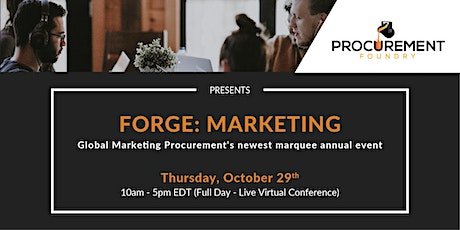 FORGE: MARKETING VIRTUAL CONFERENCE tickets
