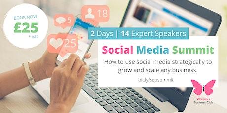 Social Media Summit tickets