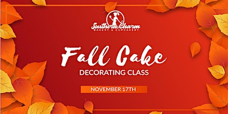 Fall Cake Decorating Class tickets