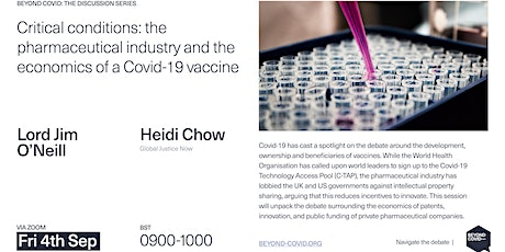 Critical conditions: big pharma and the economics of a Covid-19 vaccine tickets
