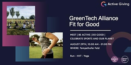 GreenTech Alliance: Fit for Good tickets