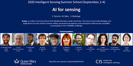 2020 Intelligent Sensing Summer School (online) tickets