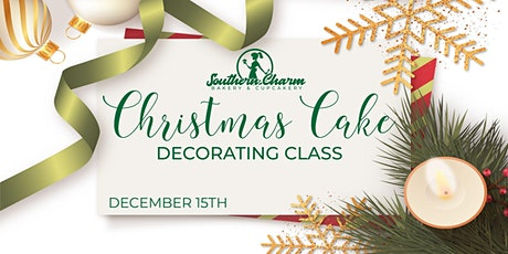 Christmas Cake Decorating Class tickets