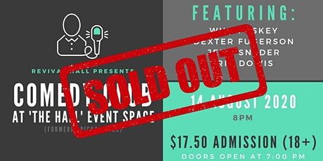 """SOLD OUT: Comedy Club at """"The Hall"""" Event Space (18+) tickets"""