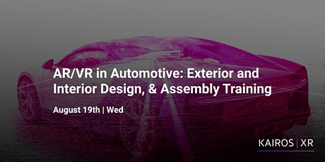 AR/VR in Automotive: Exterior and Interior Design, & Assembly Training billets