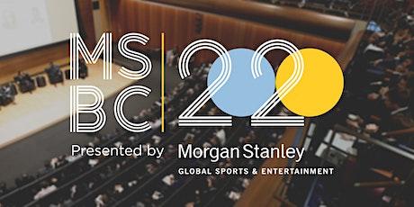 MSBC 2020 Presented by Morgan Stanley ingressos