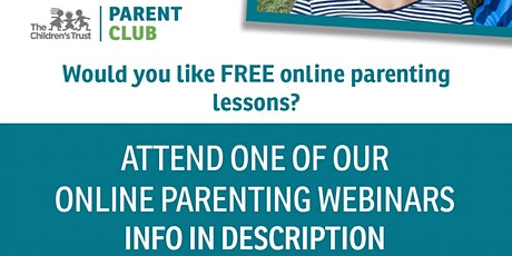 The Parent Club Workshop: Raising Competent Teens tickets