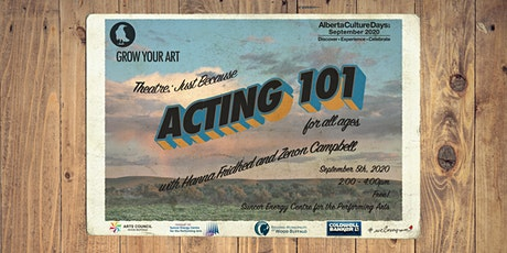 Acting 101 Workshop tickets