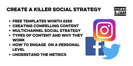 Create a compelling social media strategy (without spending a penny on ads) tickets