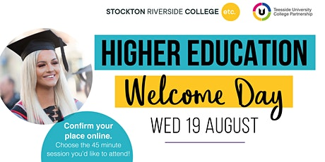 Higher Education Welcome Day tickets