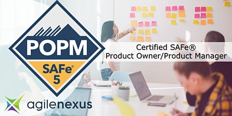 SAFe®5 Product Owner/Product Manager Certification - Louisville, KY - Aug28 tickets