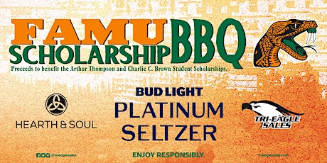 Charlie C. Brown and Arthur Thompson FAMU Athletic Scholarship  BBQ tickets