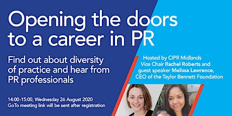Open House: Opening the doors into a career in PR Tickets