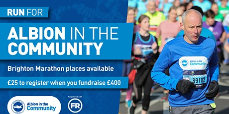 Brighton Marathon 2021 for Albion in the Community tickets