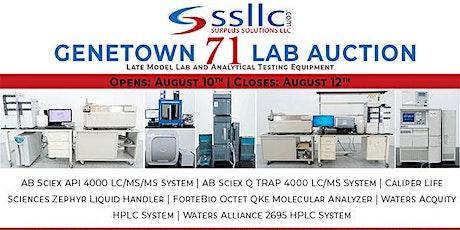 Genetown 71 Online Lab Auction tickets