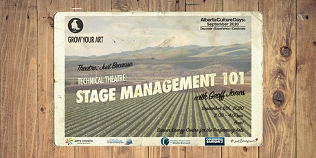 Stage Management 101 Workshop tickets