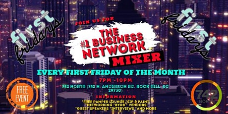 First Friday's (Business Networking Mixer) tickets