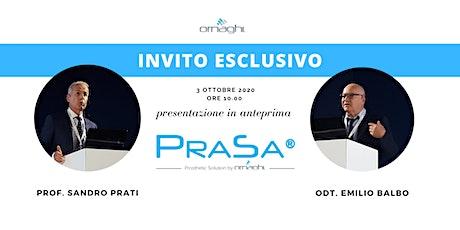 Presentazione ufficiale PRASA biglietti