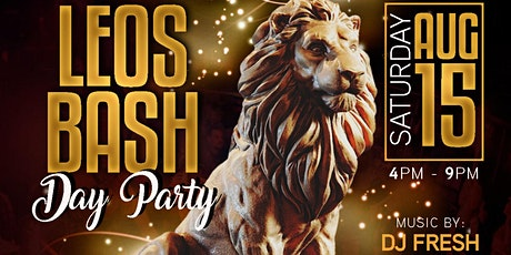 Leo Bash Day Party 2020 tickets