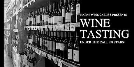 Wine Tasting Under The Calle 8 Stars tickets
