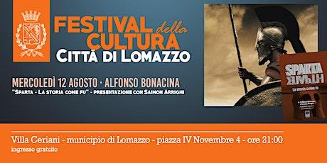 Sparta. La storia come fu - Incontro con Alfonso Bonacina - LomazzoCULT biglietti