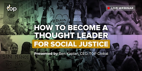 St. Louis Webinar - How To Become A Thought Leader For Social Justice tickets