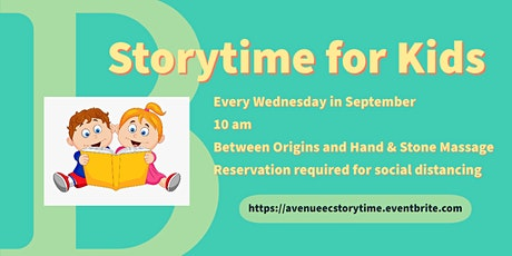 Storytime for Kids tickets