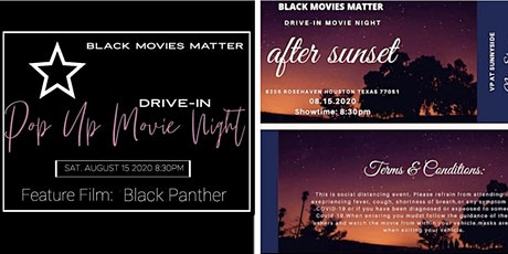 Pop Up Drive in Movie Night tickets