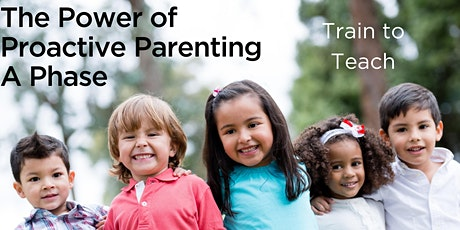 Power of Proactive Parenting Course | A-Phase | 20 - 22 Nov 2020 tickets