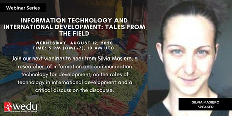 Information Technology and International Development: Tales from the Field tickets