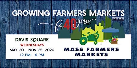 [August 19 , 2020] - Davis Sq Farmers Market Shopper Reservation tickets