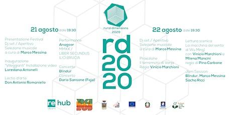 Rural Dimensions 2020 biglietti