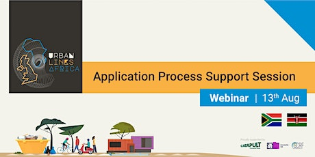 Urban Links Africa - Application Process Support Session tickets