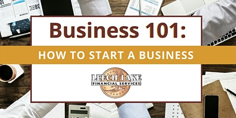 Business 101: How to Start a Business tickets