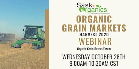 Organic Grain Markets Webinar-Harvest 2020 tickets