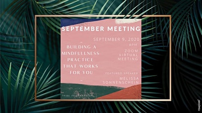 Virtual Monthly Meeting: Building a Mindfulness Practice that Works tickets