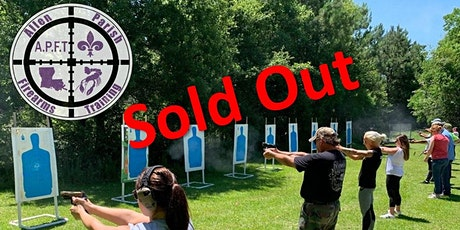 Saturday Aug 22nd- Lousiana Concealed Handgun Permit course tickets
