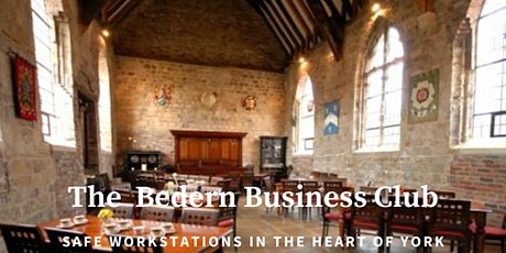 The Bedern Business Club.  Safe, serviced daily work-station rental in York tickets
