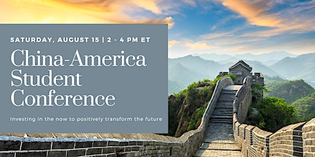 China-America Student Conference (ChASC) Zoom Session tickets