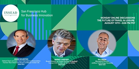 INSEAD SF Monday Online Discussion: The Future of Travel tickets