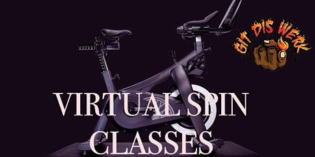 GIT DIS WERK Virtual Gospel Spin Class-Spirit in the Saddle  Cycling Sunday tickets